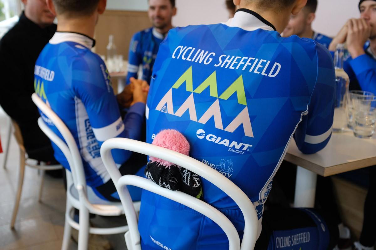 CYCLING SHEFFIELD 2019 team launch at Ambulo.